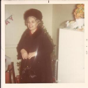 Grandma B a few months before she passed